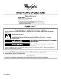 Dryer Venting Specifications