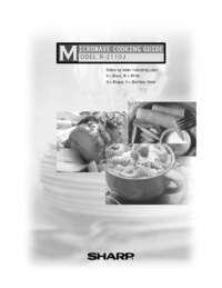 R-2110JK/JW Microwave Operation Manual (1000K)