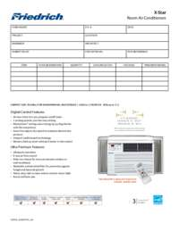 X-Star Submittal Sheet