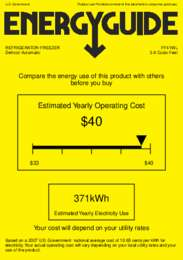 FF41WL Energy Guide