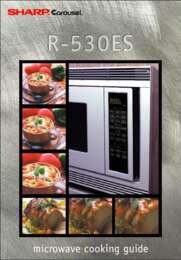 R-530ES/EK/EW Microwave Operation Manual (1000K)