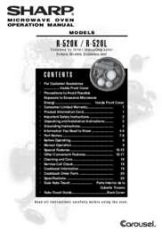 R-520LK/LW Operation Manual (630K)