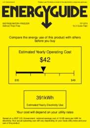 FF1074 Energy Guide