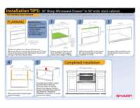 "Installation Tips: 30""in 30""Frameless Cabinet (File Size: 360k)"