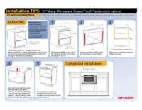 "Installation Tips: 24""in 24""Face Frame Cabinet (File Size: 364k)"