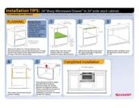 "Installation Tips: 24""in 24""Frameless Cabinet (File Size: 366k)"
