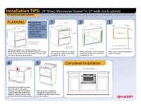"Installation Tips: 24""in 27""Face Frame Cabinet (File Size: 367k)"