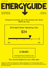 FFAR2LGL7 Energy Guide