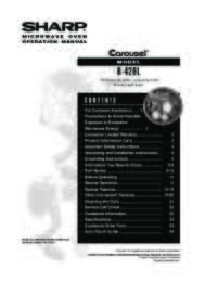 R-426L Microwave Operation Manual (File Size: 1391k)