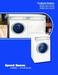 Frontload Washers (CTSA0A/ATSA0A/ATSA5A)
