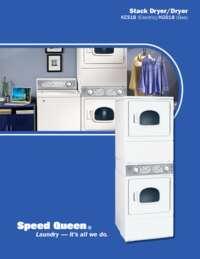Stack Dryer/Dryer (KES18/KGS18)