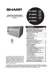 AF-S60NX  AF-S80NX AF-S85NX Operation Manual (5800K)