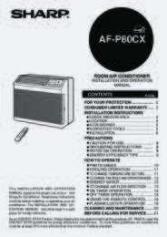 AF-P80CX Operation Manual (430K)
