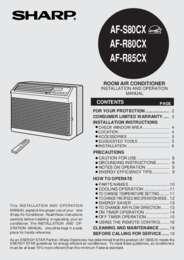 AF-S80CX Operation Manual (250K)
