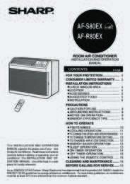 AF-S80EX Operation Manual (680K)