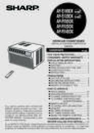 AF-S100DX  AF-S120DX Operation Manual (820K)