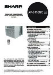 AF-S155NX Operation Manual (7900K)