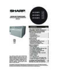 AF-S100PX  AF-S120PX  AF-S125PX Operation Manual (6200K)