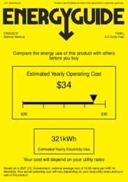 FS60L Energy Guide