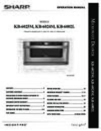 KB-6024M  KB-6025M Operation Manual (990K)