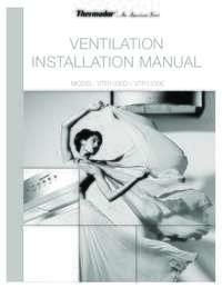 Remote Blower (VTR1030D/VTR1330E) Installation Instructions