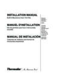 Microwave Installation Instructions