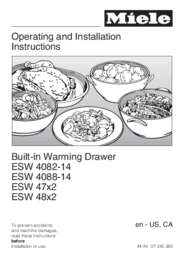 Operating and Installation manual