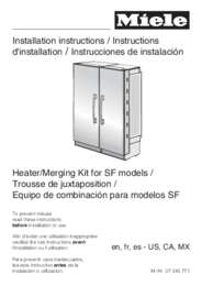 Side by Side Merging Kit Installation Manual