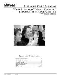 Use&Care Manuals EF24LWCZ1SS/EF24RWCZ1SS?? PDF [2.0 MB]