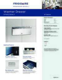 Product Specifications Sheet English