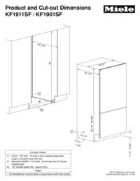 SF Bottom Mount Fridge-Freezers (36 inch)