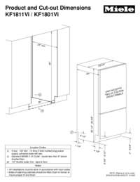 Vi Bottom Mount Fridge-Freezers (30 inch)