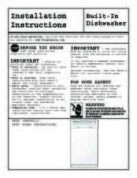 Installation Instructions English