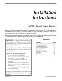 Installation Instructions All Languages
