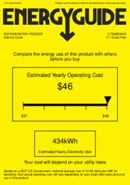 CT66BBIADA Energy Guide