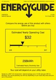 VT125 Energy Guide