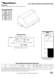 PRH18-230 Specifications