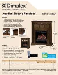 DFP20-1060BW Specs & Features