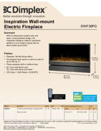 DWF36PG Specs & Features