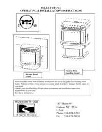 Operating & Installation Instructions