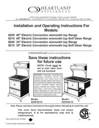 Installation and Operations Manual