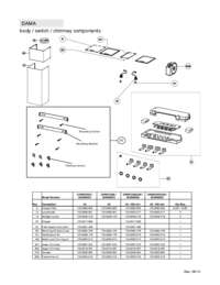Parts List / Exploded View