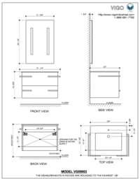 VG09003106K  Dimensions & Measurements