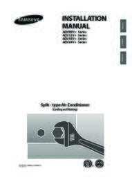 AQV18VBE Installation Manual