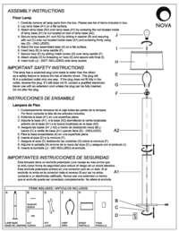 Nova 1736 Half Moon Floor Lamp In Dark Brown Brushed Nickel Finish Appliances Connection