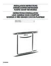 MDB4409PA Installation Instructions