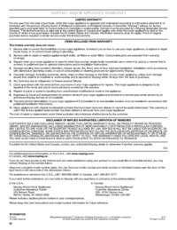 MDB4709PA Warranty Info