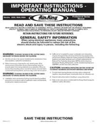 Motor Instructions