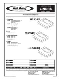 Liner Specifications