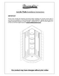 Acrylic Walls Manual